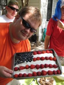 USA#1 Flag Cake